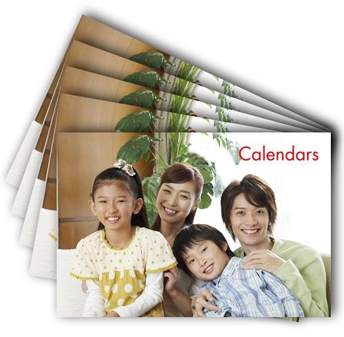 カレンダー同柄5冊組